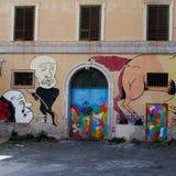 Naples, Sądowy szpital psychiatryczny Obrazy Royalty Free