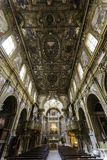 Naples, san domenico maggiore church Royalty Free Stock Photo