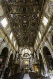 Naples, san domenico maggiore church Royalty Free Stock Photo