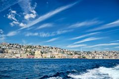 Naples seaside Stock Photo