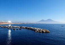 Naples seascape Royalty Free Stock Photo