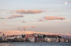 Naples skyline Stock Image