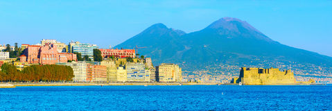 Naples skyline, Italy Stock Photography