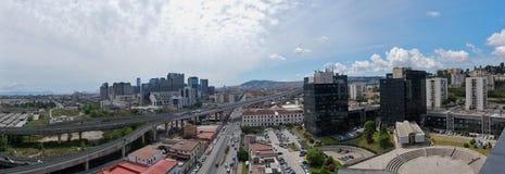 Naples - Skyline towards the Management Center Stock Photos