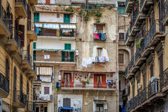 Naples spanish quarters Stock Photography