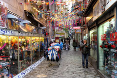 Naples spansk fjärdedel Royaltyfri Foto