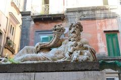 Naples stad Arkivfoton