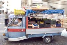 Naples stads- plats Royaltyfria Foton
