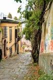 Naples starzy schodki Zdjęcie Royalty Free