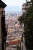 Naples starzy schodki Obraz Royalty Free