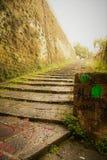 Naples starzy schodki Zdjęcie Stock
