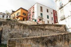 Naples starzy schodki Obrazy Stock