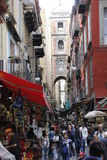 Naples street Stock Images