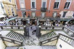 Naples streets Stock Image