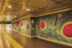 Naples subway Stock Photo