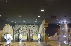 Naples subway, Toledo Station. Stock Photo