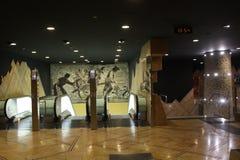 Naples subway, Toledo Station. Royalty Free Stock Image