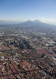 Naples and Vesuvius Royalty Free Stock Photo