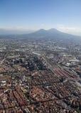 Naples and Vesuvius Royalty Free Stock Photo