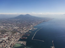 Naples and Vesuvius Royalty Free Stock Images
