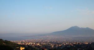 Naples and Vesuvius Stock Photography