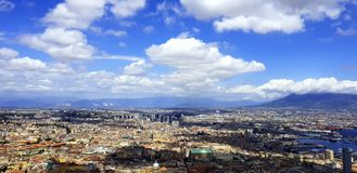 Naples. Clouds. Sky royalty free stock images