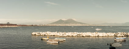 Naples view - Italy Royalty Free Stock Image