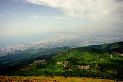 Naples view Stock Photography