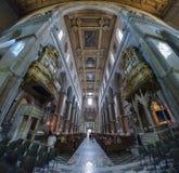 Naples, WŁOCHY, 01 CZERWIEC: Naples Katedralny Duomo Di San Gennaro w Włochy na 01 2016 Czerwu Obraz Stock