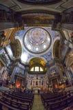 Naples, WŁOCHY, 01 CZERWIEC: Naples Katedralny Duomo Di San Gennaro w Włochy na 01 2016 Czerwu Zdjęcia Stock