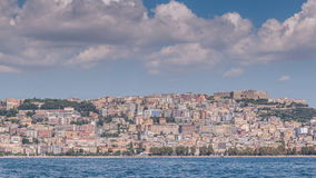 Naples waterfront Royalty Free Stock Image