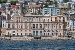 Naples waterfront Royalty Free Stock Photos