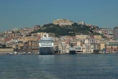 Naples zatoka Zdjęcia Stock