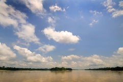 Napo river Royalty Free Stock Images