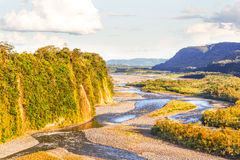Napo River In Ecuador Royalty Free Stock Images
