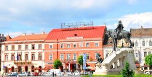 napoca Ρουμανία του Cluj Στοκ Εικόνα