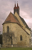 napoca Roumanie de Cluj d'église de calvaria Images libres de droits