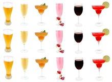 napoje alkoholowe Zdjęcie Royalty Free