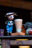 Napoje, mleko, herbata, filiżanka herbata z mlekiem Obrazy Royalty Free