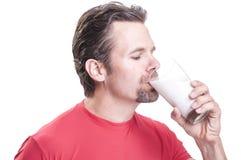 Napoju mleko Obrazy Stock