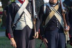 Napoléon de reconstitution Photographie stock