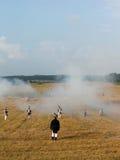 Napoleoński żołnierz Obrazy Royalty Free