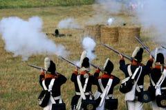 Napoleoński żołnierz Fotografia Royalty Free