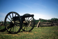 Napoleon, 12 lb cannon, near Peach Orchard, Stock Photography