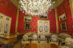 Napoleon 3 apartments, The Louvre, Paris, France Royalty Free Stock Photo