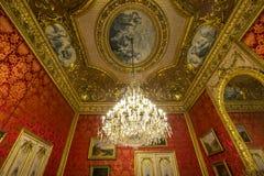 Napoleon 3 apartments, The Louvre, Paris, France Royalty Free Stock Image