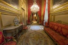 Napoleon 3 apartments, The Louvre, Paris, France Stock Photo