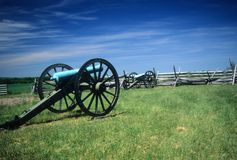 Napoleon artillery battery Royalty Free Stock Images