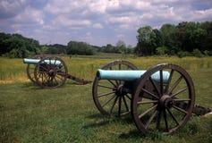 Napoleon artillery battery Stock Photo