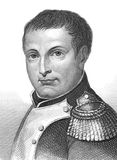 Napoleon Bonaparte. (1769-1821) on engraving from the 1800s. Emperor of France. One of the most brilliant individuals in history, a masterful soldier, an Stock Photography